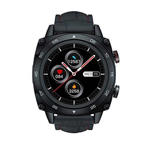 Pulsera en Forma SmartWatch Sport Rate Toate Sleep Monitor 5atm Touch Impermeable Touch Tracker Smart Watch para Hombres Mujeres Android iOS Black