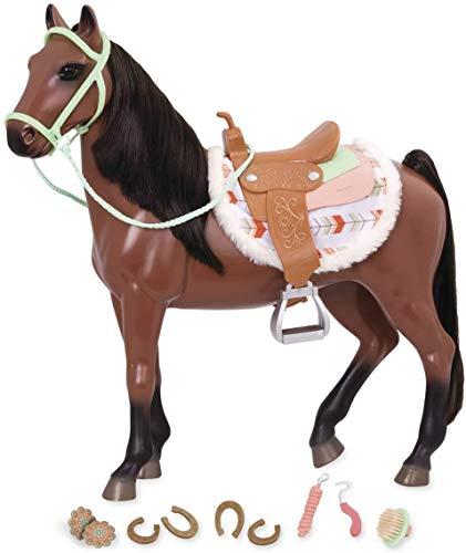 Our Generation- Cavallo Buckskin Horse, Colore Marrone, 1