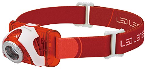 LED Lenser Seo 5 red, High Performance Line, H-Serie, 3xAAA, Blister 6106