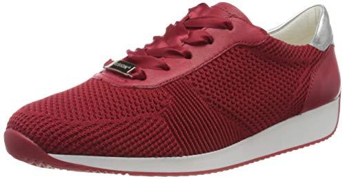 ara Women's Sneaker, Rot, 11 M US