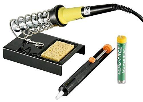 Fixpoint Kit fer à souder 4 pièces Noir
