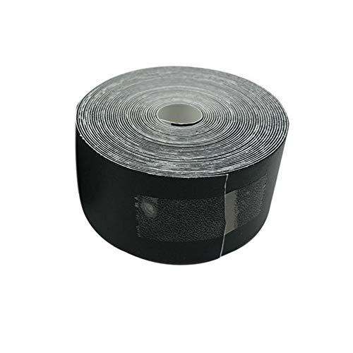 Cinta adhesiva de protección para la cabeza de raqueta de bádminton de 500 cm, 3,5 cm, duradera y de larga duración (negro o blanco)