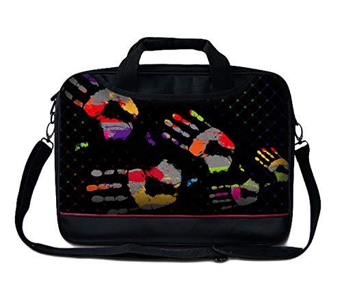 Luxburg - Borsa a tracolla/Business Bag per computer portatile con manico