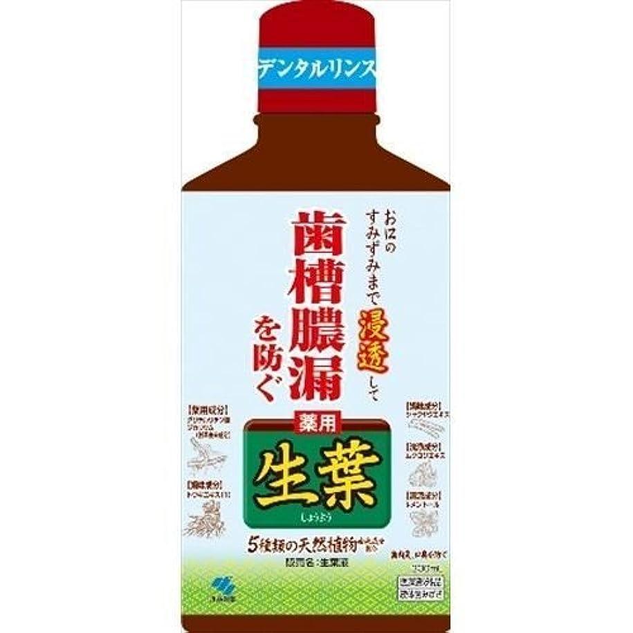食い違い外交問題記念品【小林製薬】生葉液 330ml