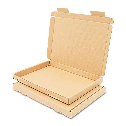 25 Maxibriefkartons 160x110x50mm Braun Versand Post Faltschachtel MB-1