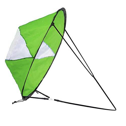 Zealhot Kayak Wind Segel 42 pulgadas Kit Kayak Kayak Paddle Board accesorios, fácil configuración y rápida entrega (verde)