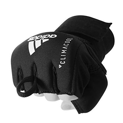 adidas Unisex Handschuhe Quick Wrap Speed Handschuhe, Black/Gold, S/M, ADISBP012