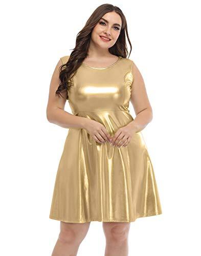 Vestido Brillante  marca HDE