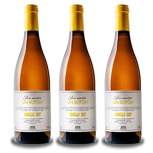 Vino del Bierzo BOTÓN Godello 2017 (3 bot x 75 cl.) - Godello Vino blanco fermentado y envejecido en fudres de roble frances