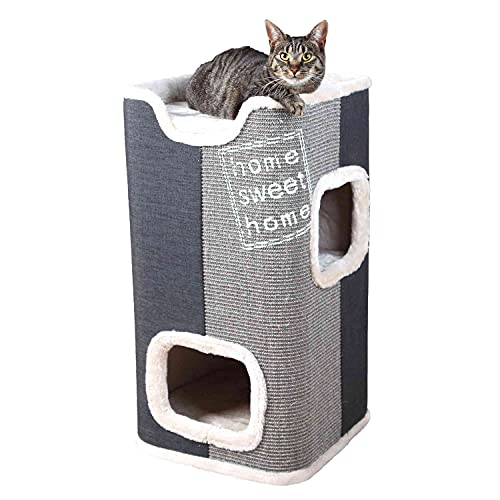 Trixie Cat Tower Jorge Kratztonne.