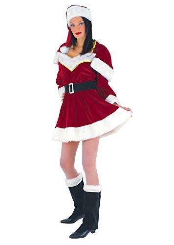 chiber - Disfraz Miss Santa Claus