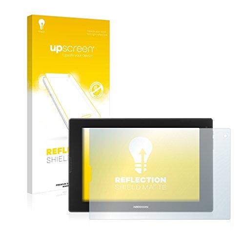 upscreen Entspiegelungs-Schutzfolie kompatibel mit Medion Lifetab P8912 (MD99066) – Anti-Reflex Bildschirmschutz-Folie Matt