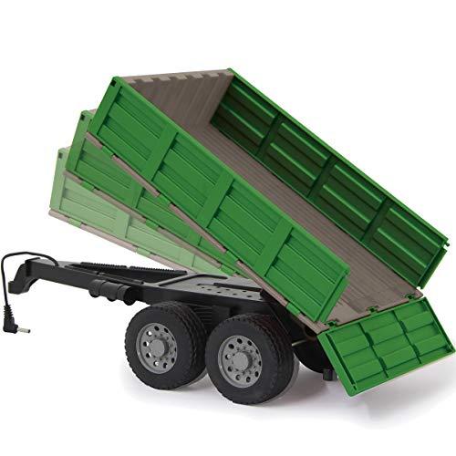 Fendt Traktor 1050 Vario ferngesteuert (1:16 2,4Ghz) RC Motorsound mit Sound Beleuchtung und verschiedenen Fahrfunktionen (Kipper)