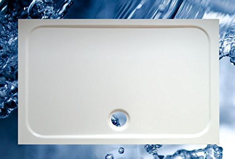 Duschbecken 1200x750 mm bzw. 750x1200 mm superflach Duschwanne 120x75 cm bzw. 75 x 120 cm
