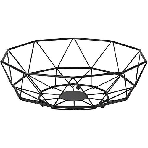 INNO STAGE Metal Wire Fruit Bowl, Fruit Serving Basket, Storage Basket for Countertop, Table Centerpiece & Home Decor