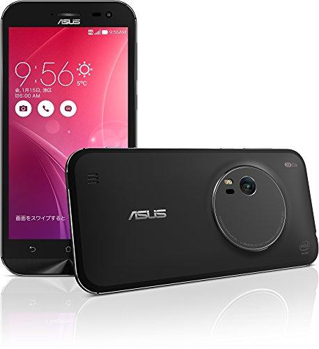 エイスース SIMフリースマートフォンZenFone Zoom 64GBモデルスタンダードブラック ZX551ML-BK64S4PL