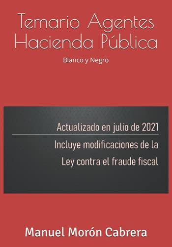 Temario Agentes Hacienda Pública: Blanco y negro