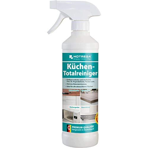 HOTREGA Küchen Totalreiniger 500 ml Sprühflasche - Profi Reiniger für die Küche