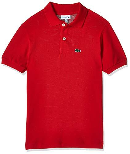 Lacoste Pj2909, Polo T-shirt Garçon - Rouge (red) - 12 ans
