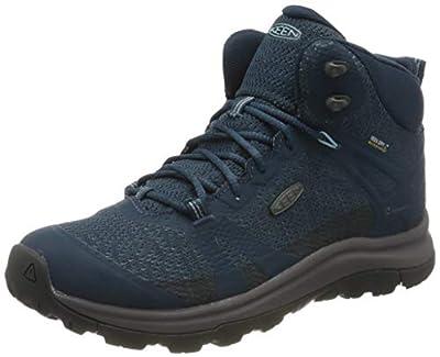 KEEN Women's Terradora 2 Waterproof Mid Height Hiking Boot, Majolica/Tapestry, 10