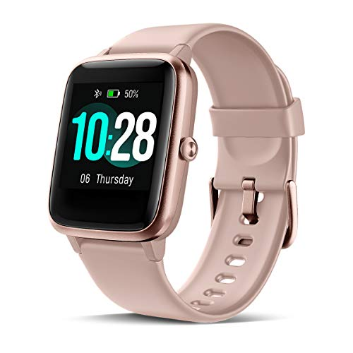 CHEREEKI Smartwatch, Fitness Armband mit Pulsmesser 1,3 Zoll Touch Screen Fitness Uhr Wasserdicht IP68 Fitness Tracker Sportuhr mit Schrittzähler Stoppuhr, Radfahren für Damen Herren Kinder