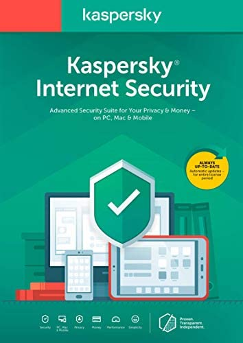 Kaspersky Internet Security 2020 3 Devices 1 year product image