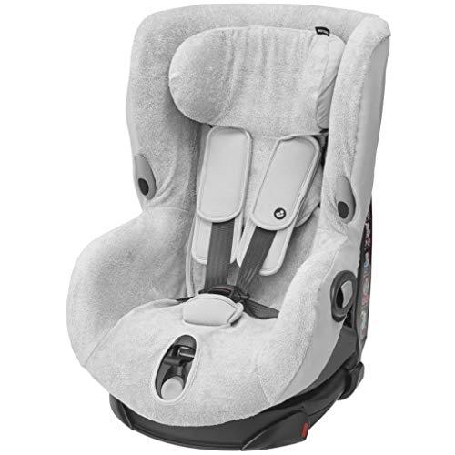 Maxi-Cosi 2427790110 Maxi-Cosi Sommerbezug, passend für Axiss Kindersitz, Schonbezug Autositz, Bezug für die warmen Sommertage, Fresh Grey, grau