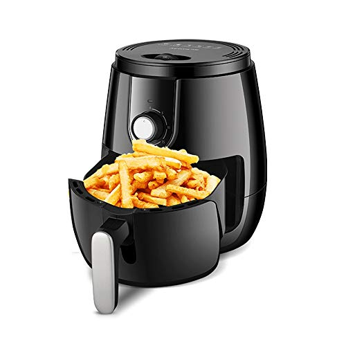 Best Prices! HWZQHJY Air Fryer Oilless 3.5L, Chip Fryer Mini Oven Timer and Temperature Control, Non...