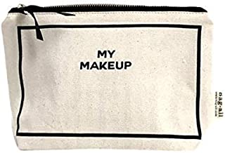 Bag-all Women's Bag-all My Make-up case, Black & White, One Size