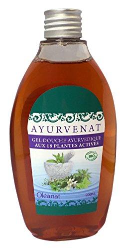 Oléanat Ayurvenat Gel Douche Ayurvedique aux 18 Plantes Bio 200 ml