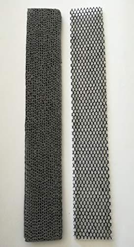 Filtros para aire acondicionado Panasonic compatibles con los modelos indicados en la descripción.