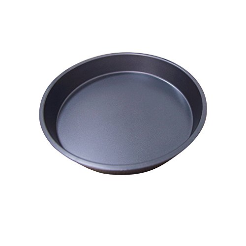 Zehui Pizza Plate Healthy Durable Shallow Pizza Pan Round Dish Non-Stick Pie Tray Kitchen Home Bakeware Carbon Steel 9 Inch
