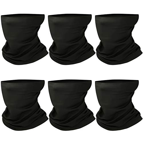 Neck Gaiter, Face Cover Scarf, Reusable Neck Mask for Fishing Cycling Running, Unisex Face Gaiter Balaclava for Sun UV Dust Wind Protection