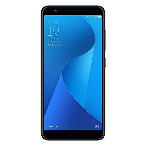 "ASUS ZenFone Max M1 (ZB555KL-S425-2G16G-BK) - 5.5"" HD+ 2GB RAM 16GB Storage LTE Unlocked Dual SIM Cell Phone - US Warranty - Deepsea Black (Renewed)"