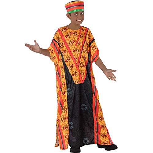 Atosa Disfraz de Africano para niño 10 a 12 años
