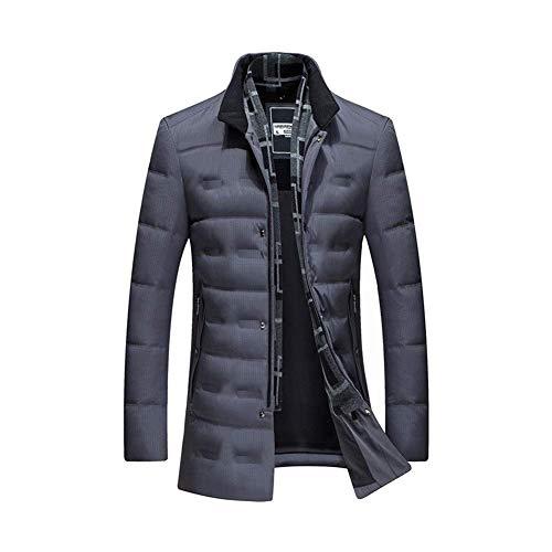 Ligera chaqueta de Down   Fleece Chaqueta a prueba de viento   aire libre Capa Caliente   Fácil de compresión   ligera y suave   ligeros   impermeable   transpirable   duradero y resistente, Gris oscu