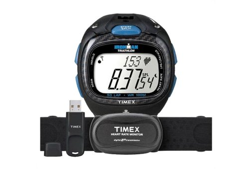 Timex Ironman Race Trainer Pro Digital Heart Rate Monitor Kit Black, One...