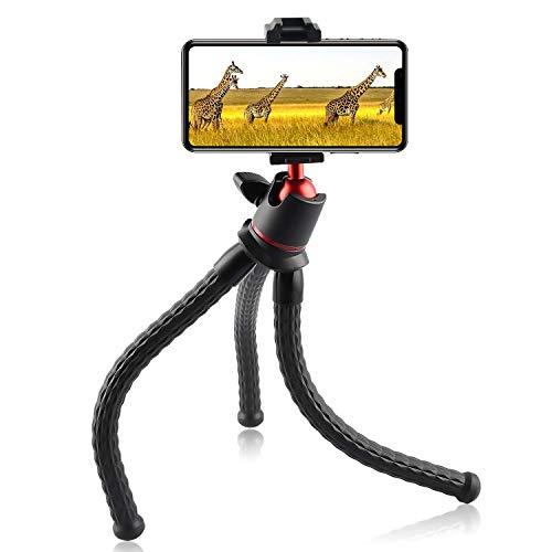Esportic Tragbar Handy Stativ, Kamera Stativ mit Handy Halter, Mini Flexible Octopus Style Smartphone Reise Stativ, Handy Halter Halterung Gorillapod für Kamera, Phone, Samsung, GoPro