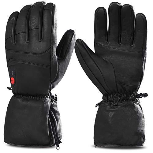 SAVIOR beheizte Handschuhe mit wiederaufladbare Lithium-Ionen-Batterie Beheizt für Männer und Frauen, warme Handschuhe für das Radfahren, Motorrad, arbeitet bis zu 2,5-6 Stunden (XXXL)