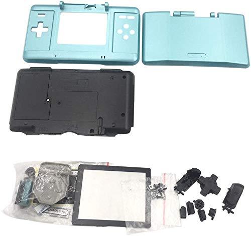 Coque de protection de rechange pour console de jeu Nintendo DS NDS Bleu clair