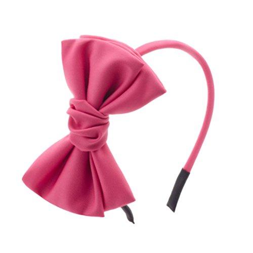 Tissu de tissu d'accessoire de tête de bowknot