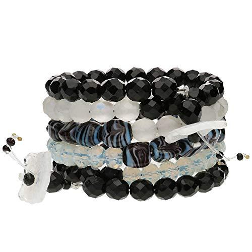 langani Armband Tulika Damen-Armschmuck schwarzen Perle Handmade Since 1952