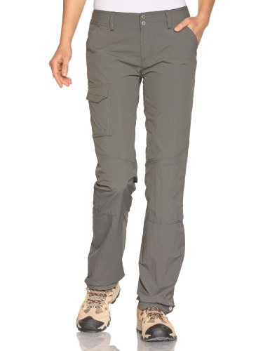 Columbia Femme Pantalon de Randonnée, Silver Ridge Pant, Nylon, Gris (Grill), Taille W42/S, 1443281
