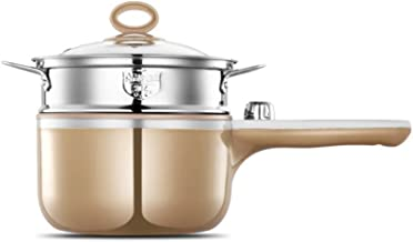 SHYPT Saucepan Stainless Steel Sauce Pot Pan with Cover Dishwasher Safe Nonstick (Color : A)