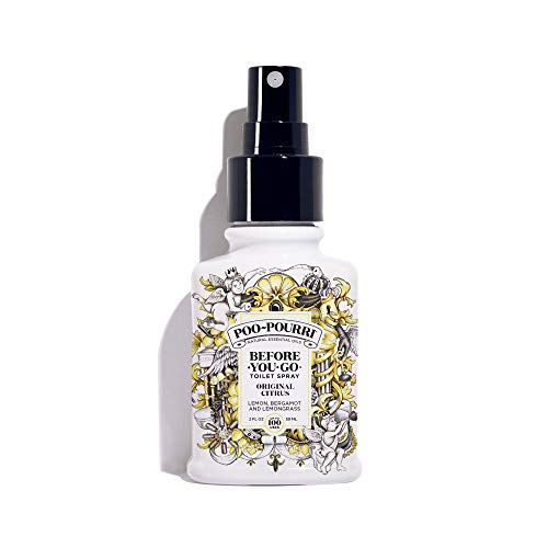 Poo-Pourri Before-You-go WC Spray, Blanc, 2 oz
