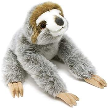 Siggy The Threetoed Sloth Baby - 12 Inch Large Madagascar Sloth Stuffed Animal Plush - by Tiger Tale Toys