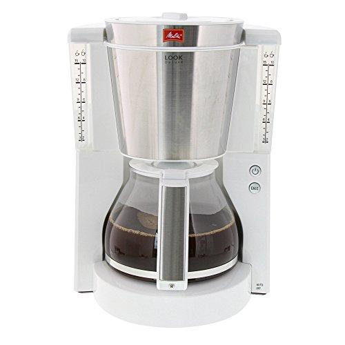 Melitta Look De Luxe 1011-05 - Cafetera de filtro, Aromaselector ...