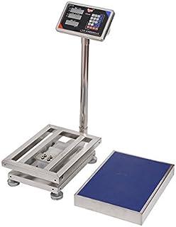 三方良し 防水・防塵デジタル台はかり(一体型) ステンレストレー付 充電式 100kg/20g 246912-01