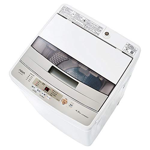 【2021年最新】AQUAの洗濯機の一覧と最新情報|特徴・評判やおすすめの選び方のサムネイル画像