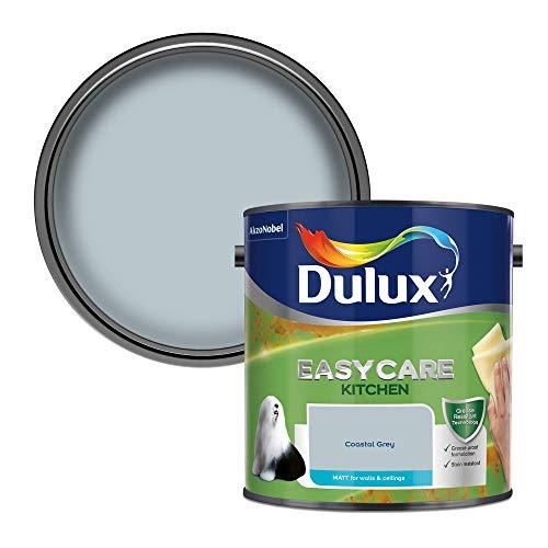 Dulux Easycare Kitchen Matt 2,5 l - Fassadenfarben (Farbe, Fertig gemischt, Wand, Blau, Matte Oberfläche, 2,5 l)